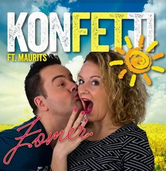 Konfetti Ft. Maurits - Zomer  CD-Single