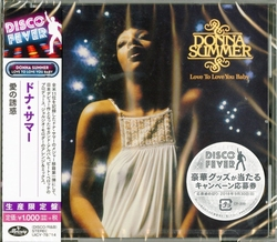 Donna Summer - Love to love you baby Ltd.  CD
