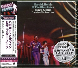 Harold Melvin & The Blue Notes - Black & Blue Ltd.  CD