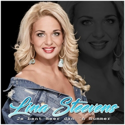 Lina Steevens - Jij bent meer dan 'n nummer  CD-Single