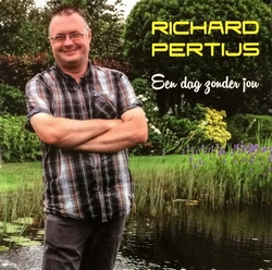 Richard Pertijs - Een dag zonder jou  2Tr. CD Single