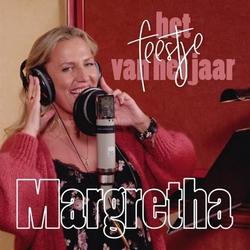 Margretha van de Laar - Feestje van het Jaar  CD-Single