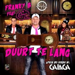 Franky B. ft. Cooldown - Duurt Te Lang  CD-Single