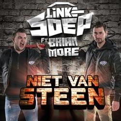 Linke Soep ft. Brian More - Niet van Steen  CD-Single