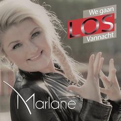Marlane - We Gaan Los Vannacht  CD-Single