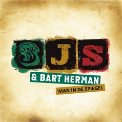 3JS & Bart Herman - Man in de spiegel  3Tr. CD Single