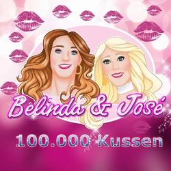 Belinda & José - 100.000 kussen  CD-Single