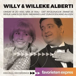 Willy & Willeke Alberti - Favorieten Expres  CD
