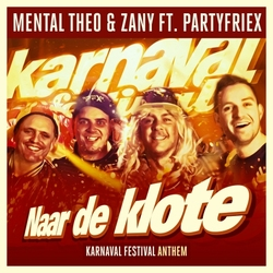 Mental Theo & Zany ft. PartyfrieX - Naar De Klote   CD-Single