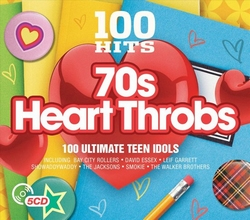 70s Heart Throbs - 100 hits  CD5