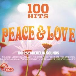 Peace & Love  - 100 hits  CD5