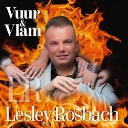 Lesley Rosbach - Vuur & vlam  CD-Single