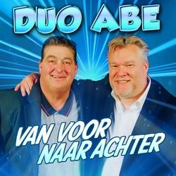 Duo Abe - Van Voor Naar Achter  CD-Single