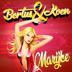 Bertus & Koen - Marijke  CD-Single