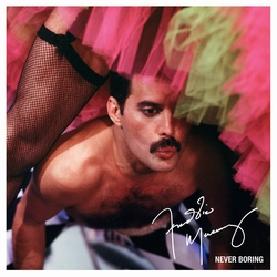 Freddie Mercury - Never Boring (greatest hits)  CD