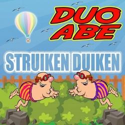 Duo Abe - Struiken Duiken  CD-Single