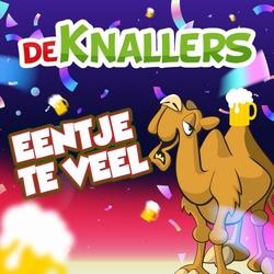 De Knallers - Eentje Te Veel  CD-Single