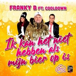 Franky B. ft. Cooldown - Ik Kan Het Niet Hebben Als Mijn....  CD-Single
