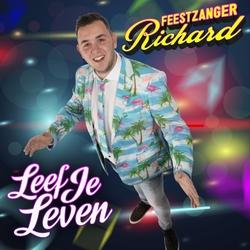 Feestzanger Richard - Leef Je Leven  CD-Single