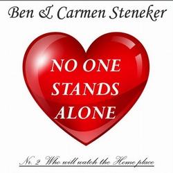 Ben & Carmen Steneker - (Where) No one stands alone  2Tr. CD Single