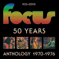 Focus - 50 Years Anthology 1970-1976   CD9+2DVD