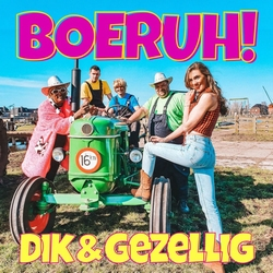 Dik & Gezellig - Boeruh  CD-Single