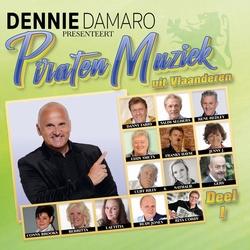 Dennie Damaro Presenteert Piraten Muziek Uit Vlaanderen 1  CD