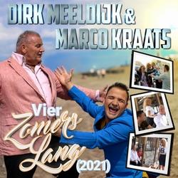 Dirk Meeldijk & Marco Kraats - Vier Zomers Lang (2021)  CD-Single