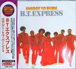 B.T. Express - Energy To Burn Ltd. + 3 Bonus Tracks  CD