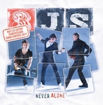 3JS - never alone  3Tr. CD Single