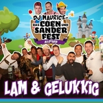 DJ Maurice ft.Coen Und Sander Fest Allstars - Lam & Gelukkig  CD-Single