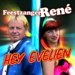Feestzanger René - Hey Evelien  CD-Single