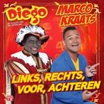 Marco Kraats & Diego - Links, Rechts, Voor, Achteren  CD-Single