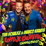 Tim Schalkx & Marco Kraats - Rondje Carnaval  CD-Single