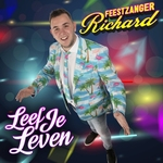 Feestzanger Richard - Leef Je Leven  CD-Single