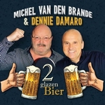Michel Van Den Brande & Dennie Damaro - 2 Glazen Bier  CD-Single