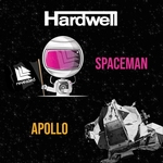 Hardwell - Apollo / Spaceman  Ltd. Rood vinyl editie  7""