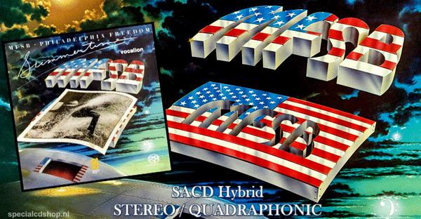 MFSB - Philadelphia Freedom & Summertime-0765387856120-SACD-Sound of Philadelphia-